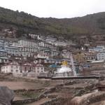 【ネパール・エベレストトレッキング2日目】ナムチェバザールでござーる(ブログ)