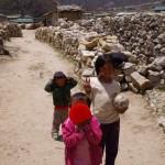 【ネパール・エベレストトレッキング11日目】シェルパ族の町コムジュン。風呂に入りたい(ブログ)