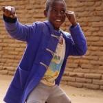 マラウィ湖の子供達の写真②