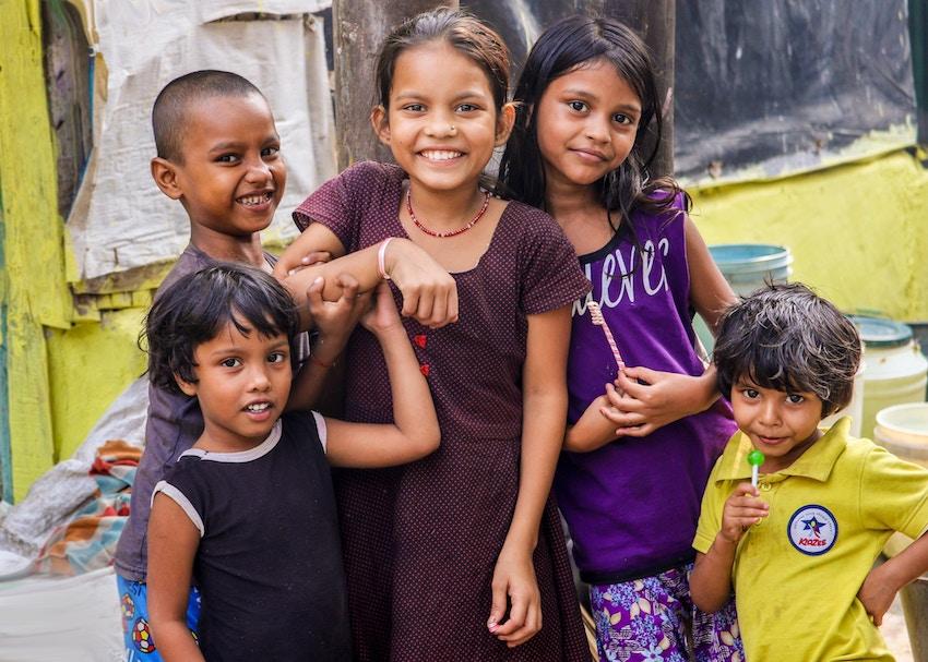 インド子供たち