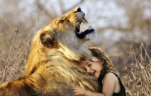 lion-girl