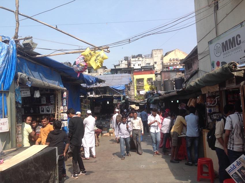 インド街中