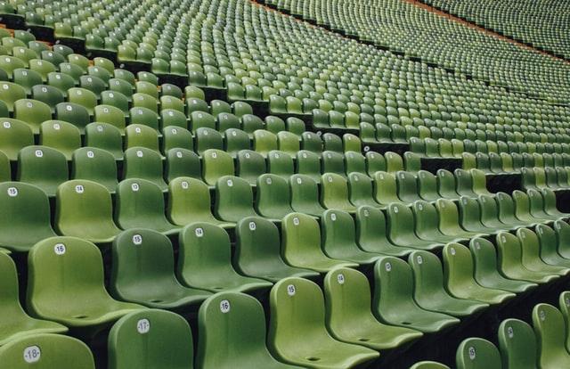 オリンピック観客席