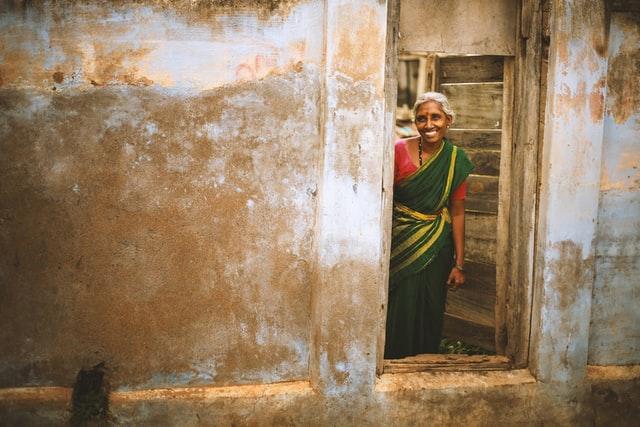 インド高齢者